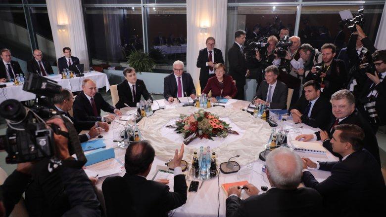Очём договорились лидеры «нормандской четвёрки»— «Минск» вБерлине
