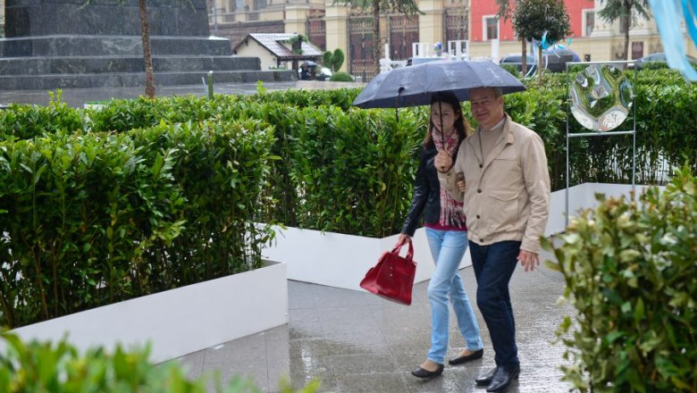 ВМоскве ввоскресенье пройдет небольшой дождь