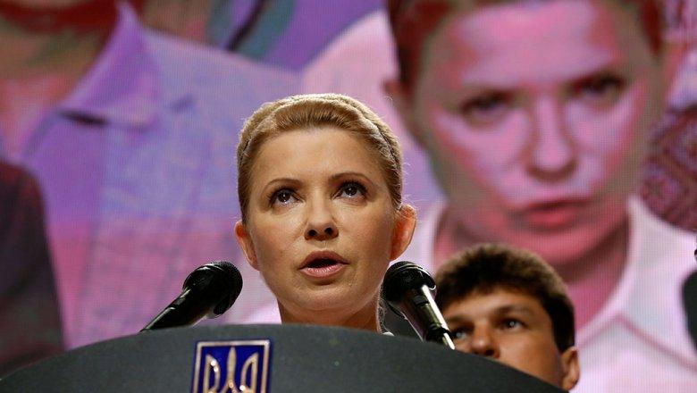 За «прорыв» Саакашвили вчерный список «Миротворца» внесли Юлию Тимошенко