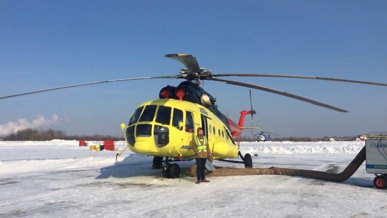 Министерство здравоохранения Хабаровского края получило новый вертолет