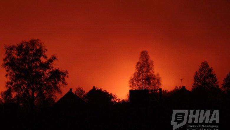 ВНижегородской области двое мужчин сгорели вподсобке