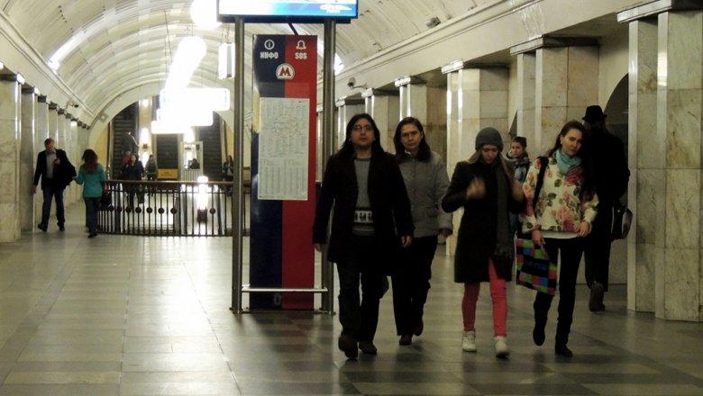 Столичное метро из-за снегопада перешло наусиленный режим работы