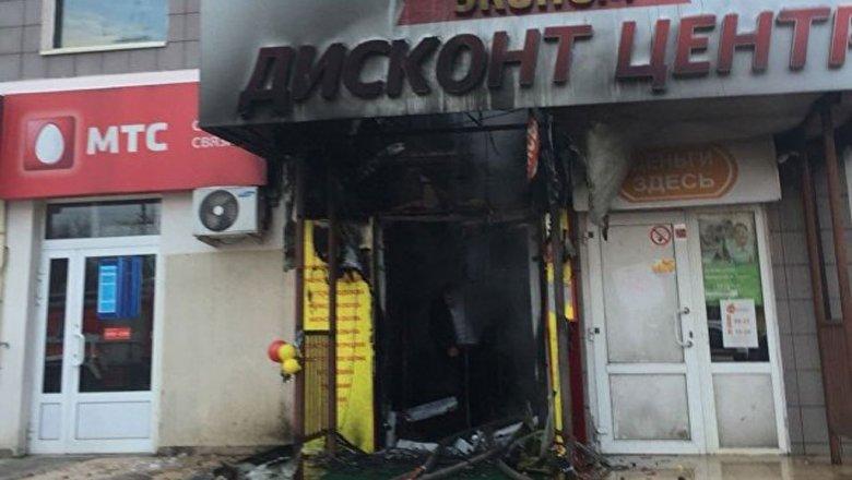 СКвозбудил дело после пожара в коммерческом центре вРаменском районе