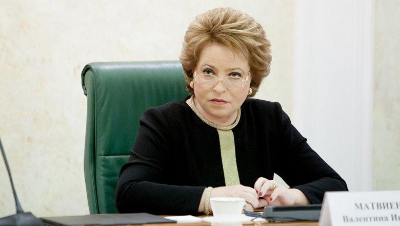 Матвиенко отказалась комментировать мост Кадырова