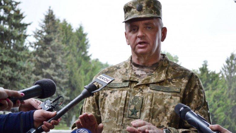 Глава Генштаба ВСУ Муженко наказал военных-взяточников
