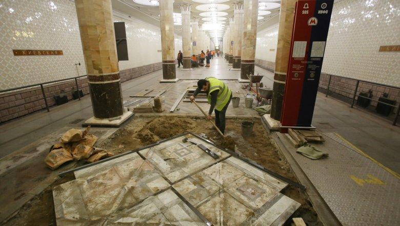 Началась реконструкция Филёвской линии московского метро