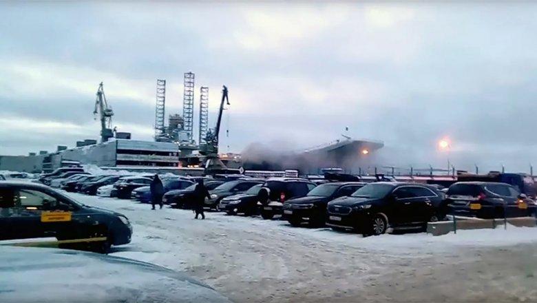 Спасатели нашли тело второго погибшего на «Адмирале Кузнецове»