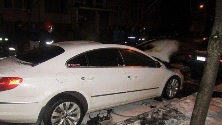 Сожжённый вВитебске «Volkswagen PassatCC» принадлежит видеоблогеру Кулешову