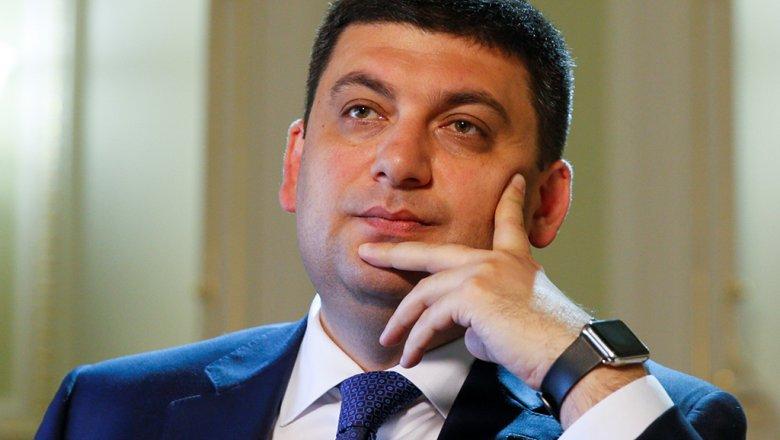 Гройсман назвал сроки полного отказа от российского газа