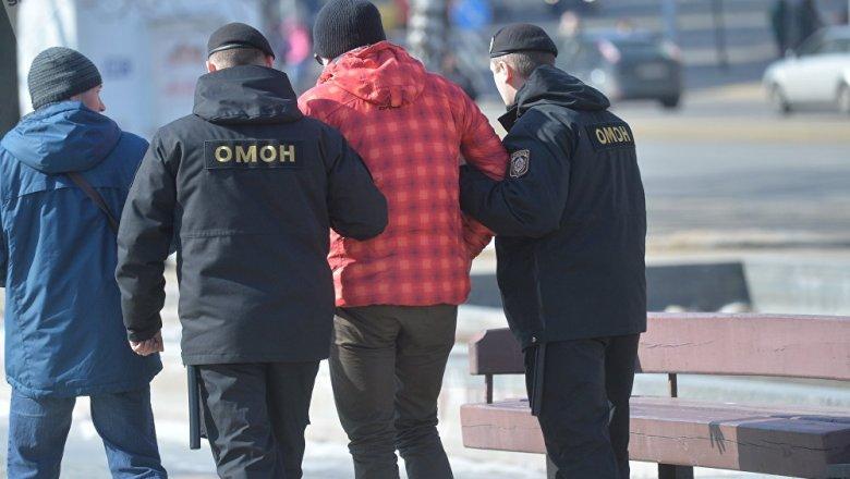 Вцентре Минска работники милиции задержали десятки оппозиционеров