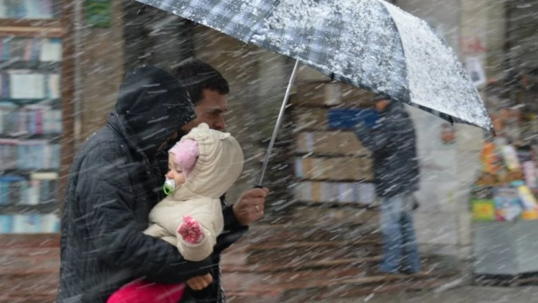 Погода вКазахстане: вближайшие три дня ожидаются снег, туман иметель