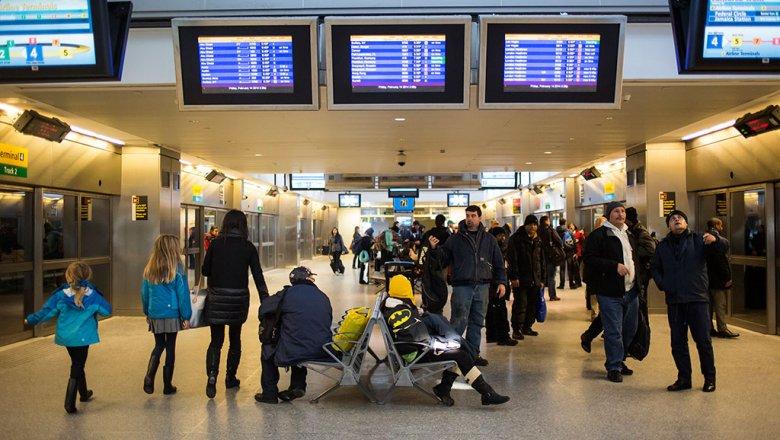Ваэропортах столицы отменены изадержаны неменее 50 рейсов