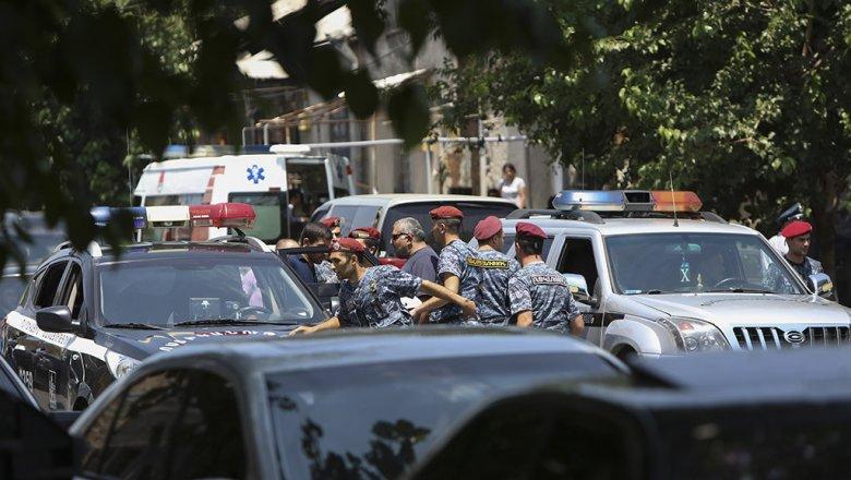 Вооруженная группа вЕреване отпустила всех заложников