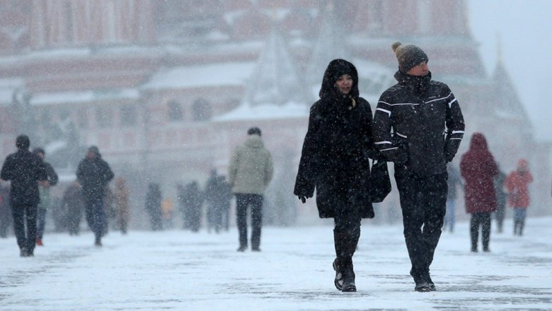 В Москве иПодмосковье ожидаются снегопад ипохолодание