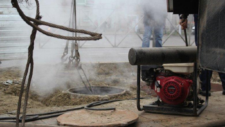 Теплотрасса разрушена вКраснодаре, без горячей воды остались неменее 100 домов
