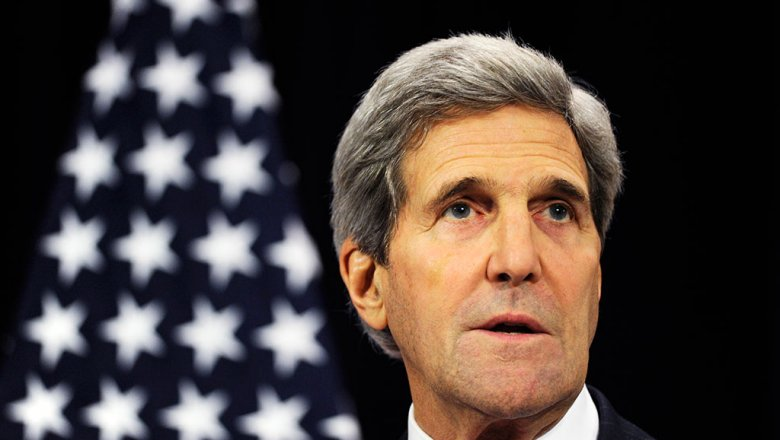 Керри: США невидят угрозы для себя вдействиях Российской Федерации вСирии