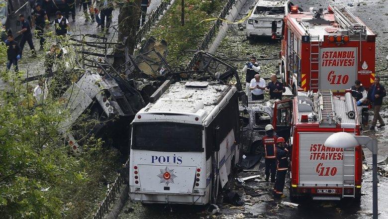 ВСтамбуле прогремел взрыв