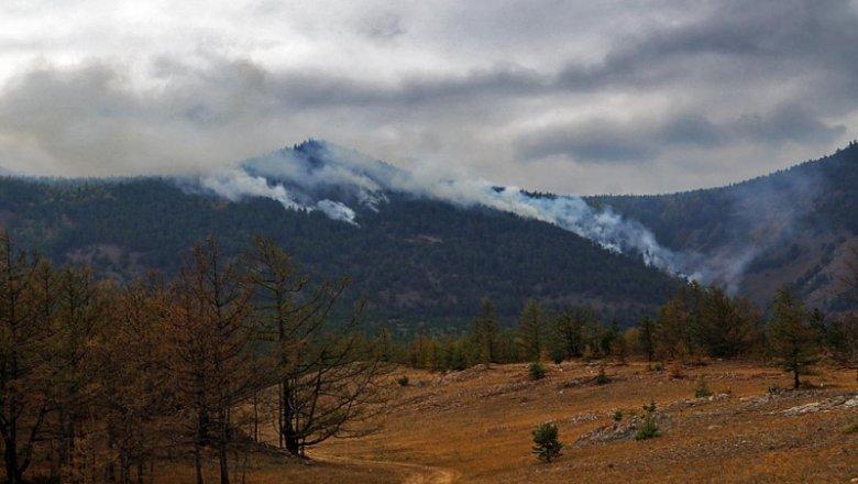 ВКиренском районе ввели режимЧС из-за лесных пожаров