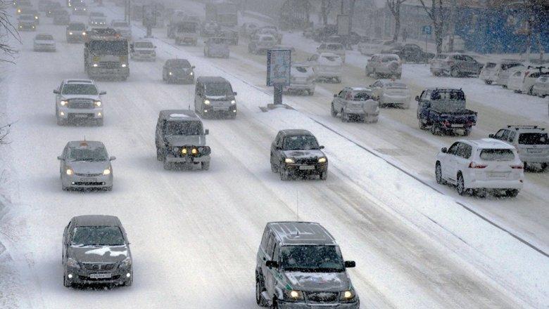 Владивосток потрясла серия ДТП— 250 происшествий засутки