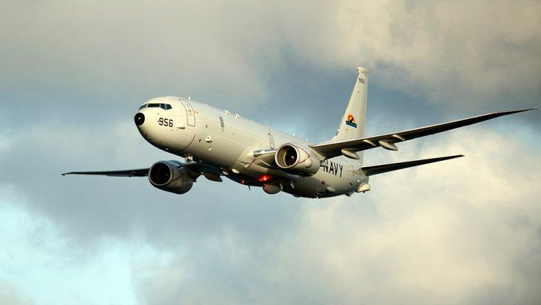 Русский истребитель приблизился кпатрульному самолету США над темным морем