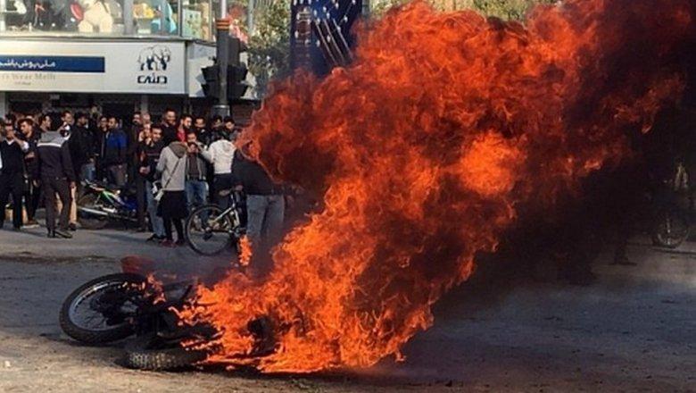 Image result for В протестах в Иране погибли больше сотни человек