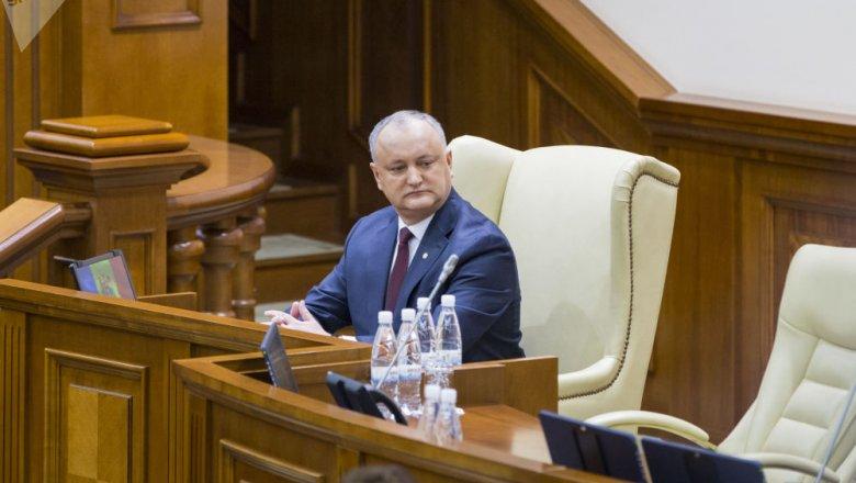 Игорь Додон сказал послам, когда может распустить парламент