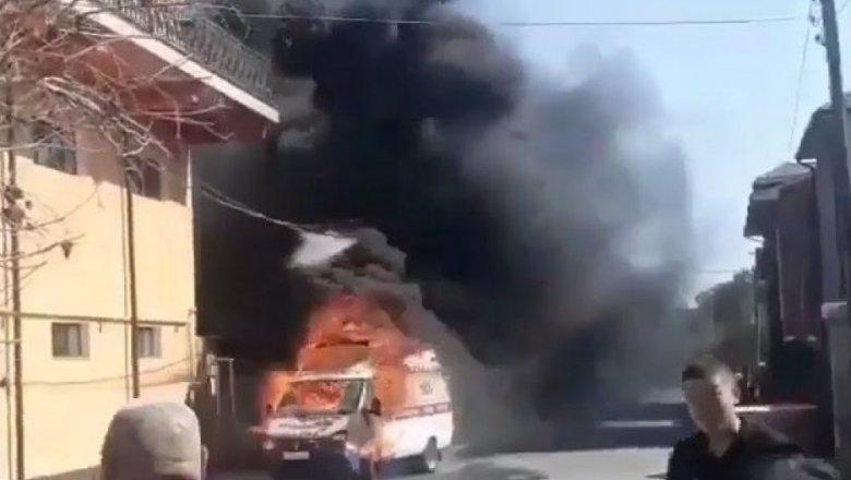 Вкафе Астаны потушили сверепый пожар