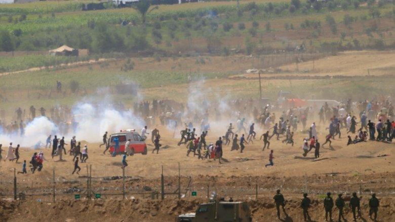 ВВС Израиля заночь три раза атаковали объекты ХАМАС всекторе Газа