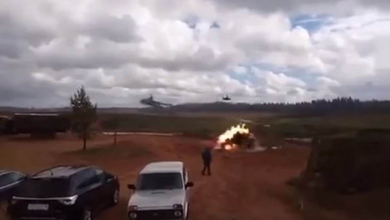 Вертолет случайно обстрелял наблюдателей  научениях «Запад-2017»