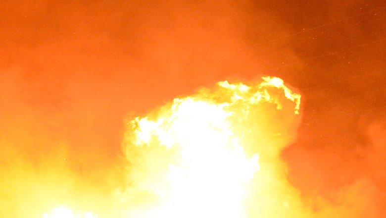 """Пожар произошел в одном из цехов завода """"Полимир"""""""