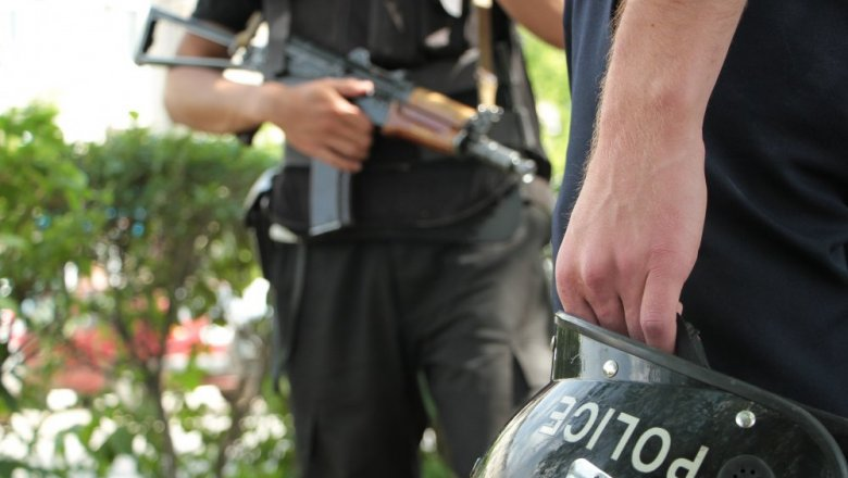 Стрельба стеррористами— Спецоперация вКазахстане