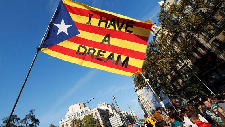 Каталония провозгласит независимость отИспании напротяжении нескольких дней