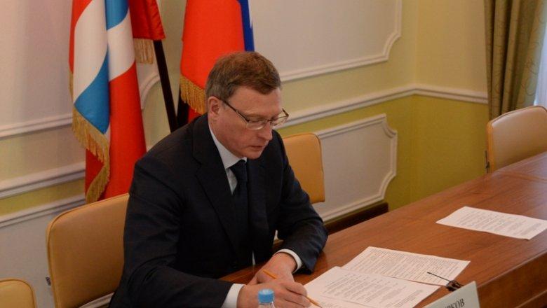 Руководитель  Омской области предложил место в руководстве  мэру Омска