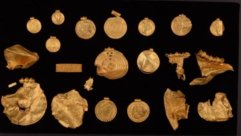 Интересный клад в Дании История