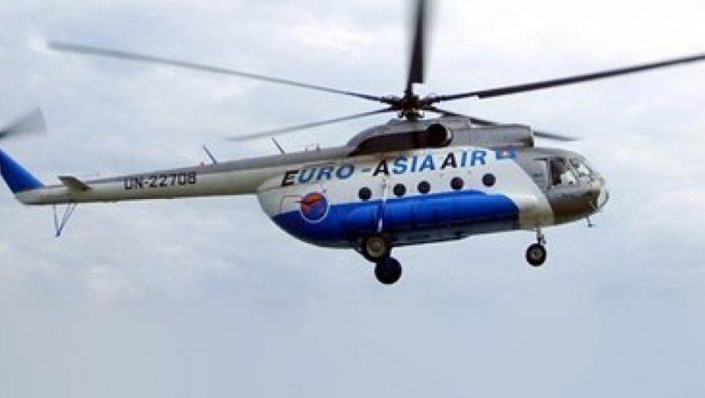 Вертолет авиакомпании «Евро-Азия Эйр» упал вКызылординской области