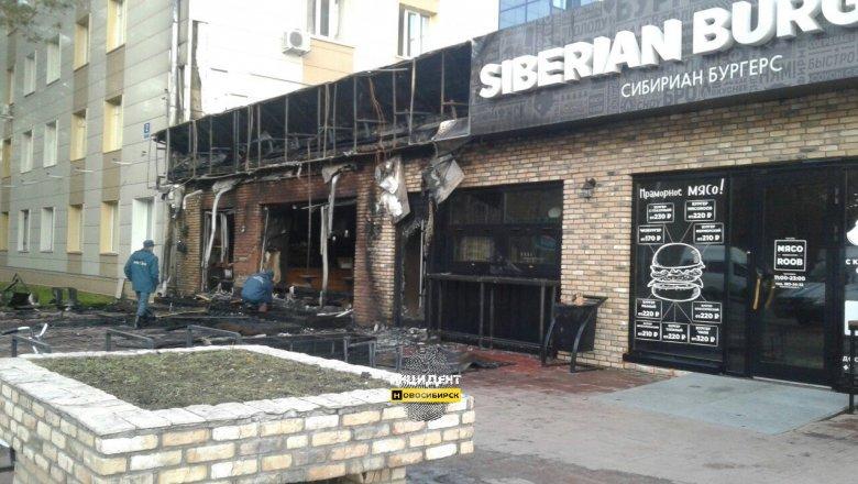 Вновосибирском Академгородке сгорела кофейня