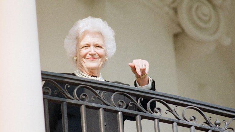 ВСША скончалась супруга экс-президента Джорджа Буша-старшего Барбара Буш