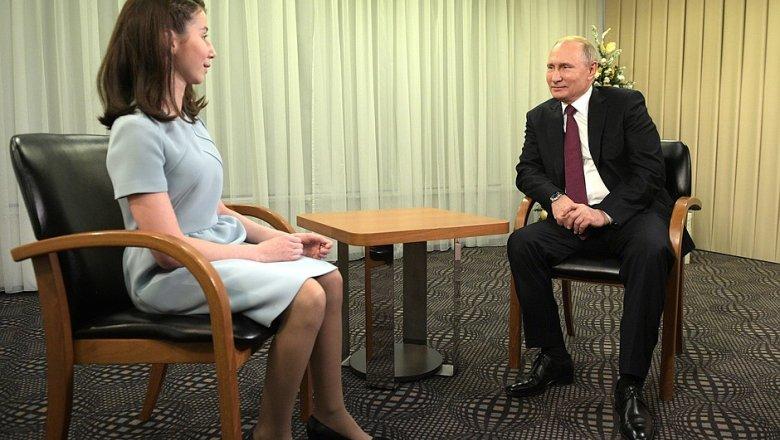 Путин поведал, что никогда нежалел орешении стать президентом