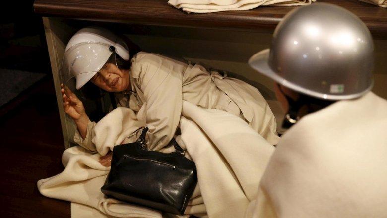 Жертвами землетрясений вЯпонии стали неменее 40 человек