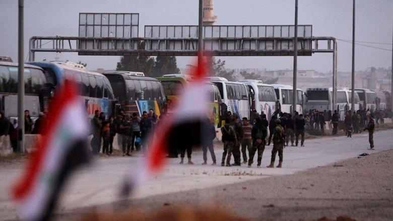 Военные сказали обизъятии убоевиков вГуте 23 поясов смертников