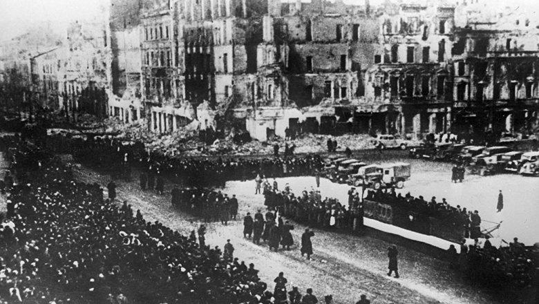 Минобороны рассекретило архивы об освобождении Польши в ходе ВОВ