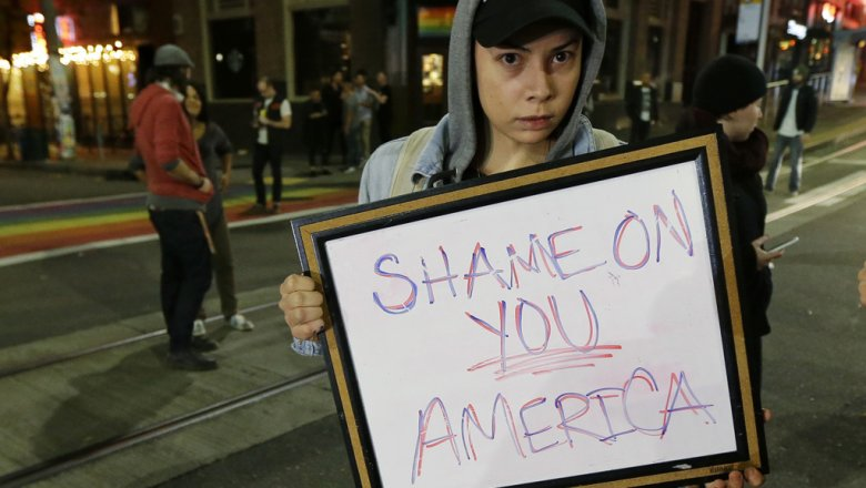Тысячи американцев снова протестуют убашни Трампа вНью-Йорке