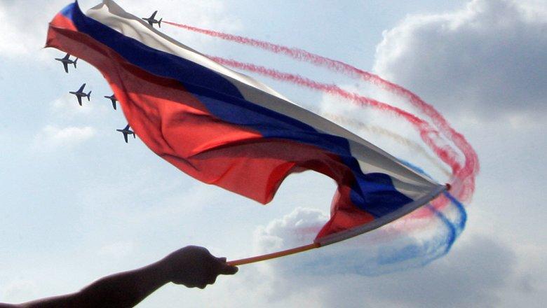 Русские соцсети запустили акции вчесть Дня флага РФ