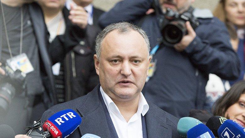 Путин поздравил Додона спобедой ипригласил в столицу Российской Федерации — Выборы вМолдове