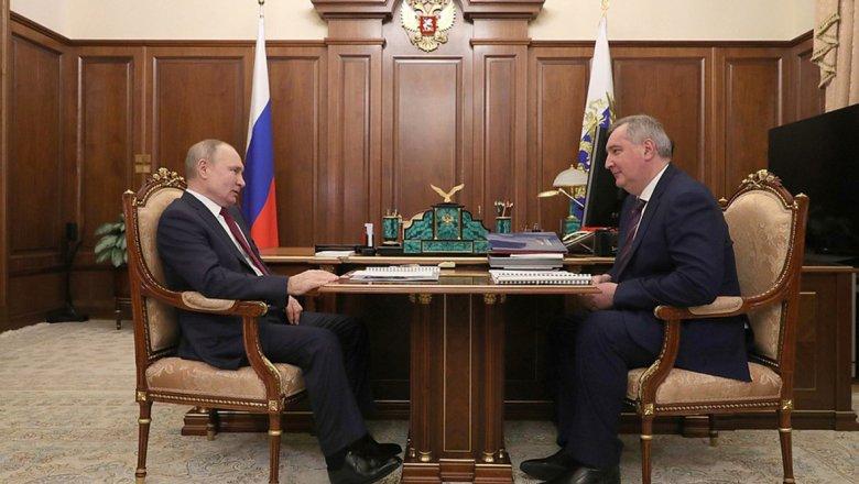 Рогозин отчитался Путину об успехах «Роскосмоса»