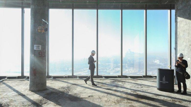 Порядка 3% офисных площадей осталось реализовать вкомплексе «Башня Федерация»