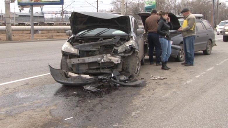Вцентре Мурманска нетрезвый  шофёр  исчез  сместа ДТП