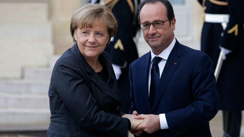 Берлин: Меркель и Олланд заявили, что санкции против России придется продлить