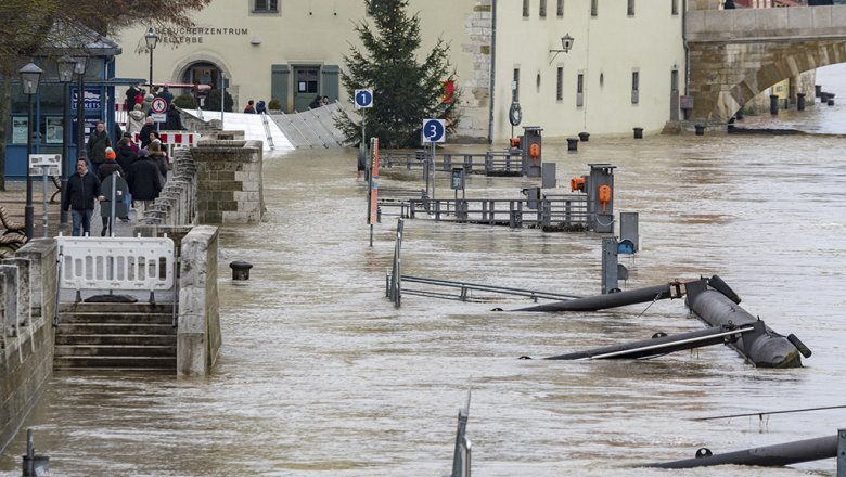 Ростуризм предупредил обугрозе наводнения вГермании иФранции