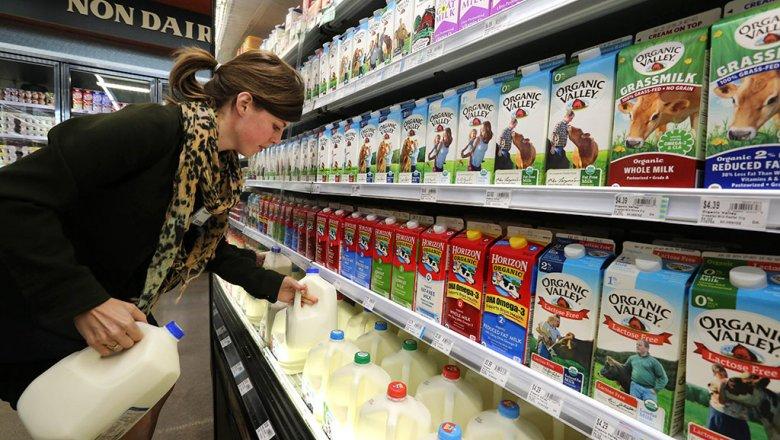 Вкрае снято спродажи неменее 670кг молочной продукции